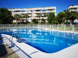 Torremolinos beachfront apartment with view