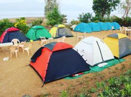 wild lake camping
