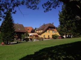 Hotel Schwarzwald Kniebis, Kniebis (Wolf yakınında)