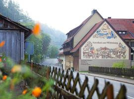 Landhotel Gasthof Wittstaig, Gundelfingen (Frankenhofen yakınında)