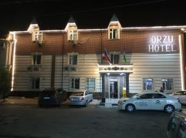 Hotel Orzu