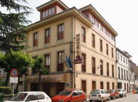 Hotel Restaurante El Manquin, Villaviciosa (Cazanes yakınında)