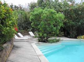 Nice villa in Pointe Milou St barthelemy