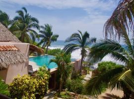 Beautiful Beachfront Estate in Troncones