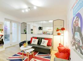 Seaside Patio Apartment Metres From Brighton Seafront Sleeps 2 To 8 Guests