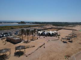 Betzet beach campsite