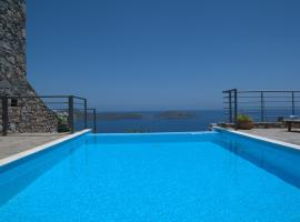 Mavrikiano Villa Sleeps 6 Pool WiFi