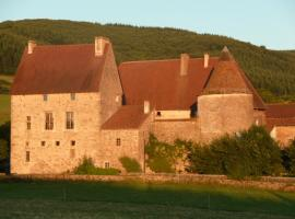 Château de Corcelle, Bourgvilain (рядом с городом Sainte-Cécile)