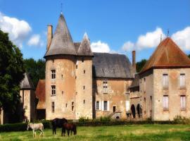 Château du Max, Le Theil (рядом с городом Tréban)
