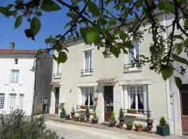 Chambres d'Hôtes Bienvenue, L'Absie (рядом с городом Scillé)