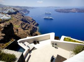 Firostefani Villa Sleeps 2 Pool Air Con WiFi