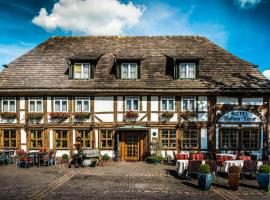 Hotel Hellers Krug, Holzminden (Bevern yakınında)