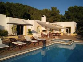 Playa d'en Bossa Villa Sleeps 10 Pool Air Con WiFi