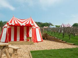 Knights Glamping at Leeds Castle