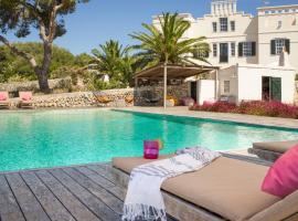 s'Estanyol de Migjorn Villa Sleeps 17 Pool WiFi