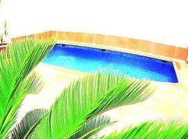 Casa con piscina privada puerto