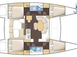 Sail Bot Catamaran Lagoon 380