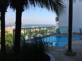Apartamento linda vista, 200 metros da praia de camboinhas
