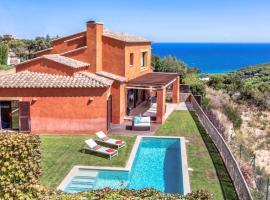 Begur Villa Sleeps 8 Pool Air Con