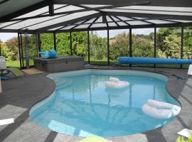 Bretagne,maison avec piscine et spa