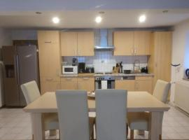 Cosy, ground floor 2 bedroom apartment in Mackenbach (5 min from Ramstein US air base)