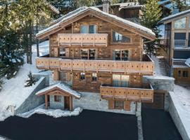Chalet with seven-bedrooms renovated