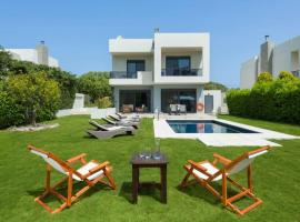 Ialysos Villa Sleeps 8 Pool Air Con WiFi