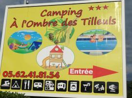 """Camping """"A l'Ombre des Tilleuls"""""""