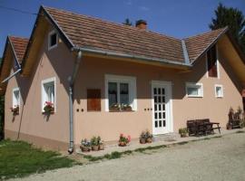 Fazekas Vendégház és Kemping, Őriszentpéter (рядом с городом Nagyrákos)