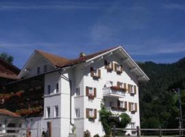 Landgasthof Sommerfeld, Pragg-Jenaz (Jenaz yakınında)