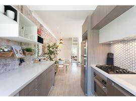 Designer apartment next to lagoon and beach