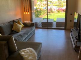 Appartement à Prestigia Marrakeche avec jardin