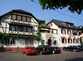 Gästehaus Hebinger am Schlosspark, Deidesheim (Ruppertsberg yakınında)