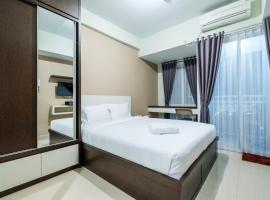 City View Studio Grand Dhika Apartment near Bekasi Barat By Travelio