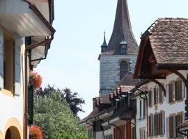 The Old Town Flat, Murten (Münchenwiler yakınında)