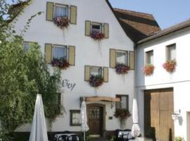 Spessarter Hof, Hobbach (Wildensee yakınında)