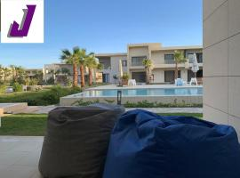 Amazing Studio Ground Floor in G cribs, with sofa bed, heated pools access