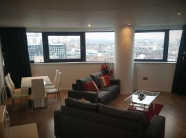 Two Bed Modern City Center Apartment with Gorgeous Views