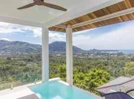 Awesome sea view pool studio - 2 people - Lamai Bay View