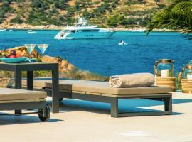 Diaporos Villa Sleeps 20 Pool Air Con WiFi