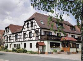 Landgasthof - Hotel zum Stern, Linden (Neuhof an der Zenn yakınında)