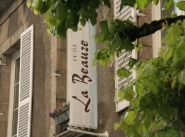 Hotel La Beauze, Обюссон