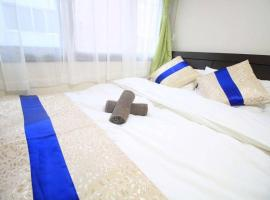 TQ44 apartment in Akihabara area with double bed