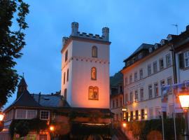 Hotel ZUM TURM, Kaub (Sauerthal yakınında)