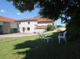 Les Bibu Chambres Meublées, Anneyron (рядом с городом Épinouze)
