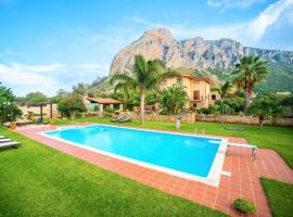 Cinisi Villa Sleeps 10 Pool Air Con WiFi