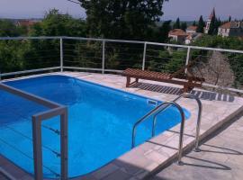 Bobovišća, old stone house with private pool