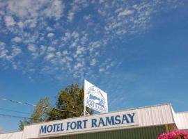Motel & Camping Fort Ramsay, Gaspé (Saint-Maurice-de-l'Échouerie yakınında)