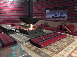 wadi rum stars tour with camping