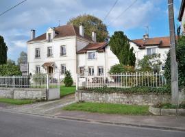 Chambres d'hotes Villa Nantrisé, Romagne-sous-Montfaucon (рядом с городом Châtel-Chéhéry)